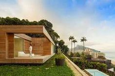 Resultado de imagen para arquitectura moderna en madera