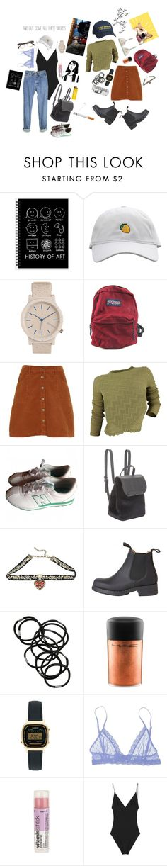 """""""We are your friends"""" by laurennatasha3 ❤ liked on Polyvore featuring Topshop, JanSport, River Island, Free People, New Balance, BCBGeneration, Disney, Coven, Monki and HUF"""