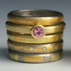 #Gold #Rings by Catherine Mannheim http://www.fldesignerguides.co.uk/engagement-ring-designer/catherinemannheim