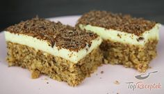 czech food Zutaten Fr den Teig ml): 1 TasseZucker 1 TasseWalnsse, gemahlen 1 TasseMilch Tassel 1 TasseMehl. Lemon Desserts, Healthy Desserts, Easy Desserts, Pound Cake Recipes, Easy Cake Recipes, Dessert Recipes, Dessert Simple, Vanilla Coffee Cake Recipe, Desserts Sains