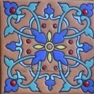Risultati immagini per tecnica ceramica cuerda seca
