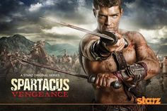 Fortunately, even after the sad loss of Andy Whitfield, the series carried on with Liam McIntyre.