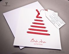 kaart - uitnodiging...christmas card kiddo can help make??