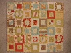 whimsy square and baby quilt