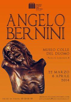 22 marzo - 6 aprile 2014: mostra delle sculture di Angelo Bernini, artista viterbese.  Inaugurazione ore 18 di sabato 22.  http://www.museocolledelduomo.com/servizi/angelo-bernini-in-mostra-al-museo-colle-del-duomo/