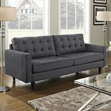 Grey Standard Sofas | Wayfair