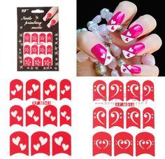 Best Nail Stencils | ... Pretty Store Blog: Born Pretty Nail Art Stickers Which I Like Best