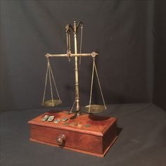My collection - SOLD $175 Antique Apothecary Scales