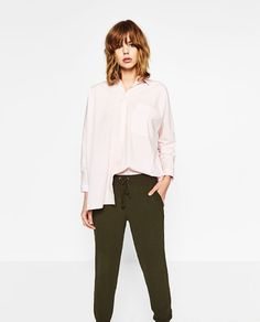 ZARA - WOMAN - JOGGING TROUSERS