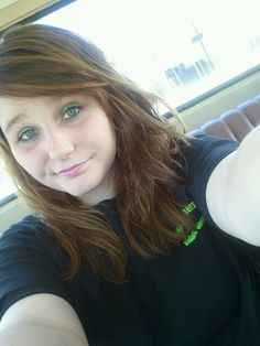 Me in the OldChevy.<3
