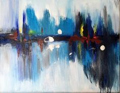 "Saatchi Art Artist Wang Shu Jie; Painting, ""city"" #art"