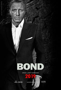 another Bond movie in 2019 ...huzzah
