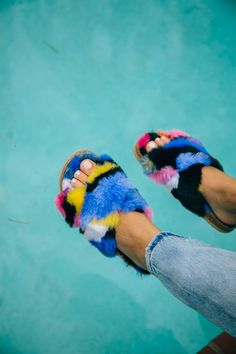 Goals: Furry slides to the pool kind of Saturday