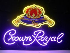 New Crown Royal Real Glass Neon Light Sign Home Beer Bar Pub Sign L46 | eBay