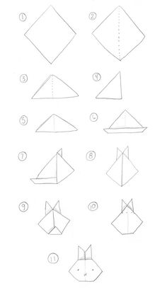 Lovely and simple illustrated tutorial for you and your children