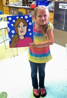 Teaching kids to paint self portraits in the regular classroom while mastering standards like geometry, sequencing, and informational writing. Self Portrait Kids, Portraits For Kids, Creative Self Portraits, Kids Art Class, Art For Kids, Mother's Day Projects, How To Teach Kids, Best Mothers Day Gifts, 4th Grade Art