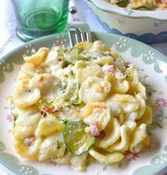 Timballo di orecchiette e zucchine #italianfood #pasta