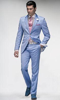 blue mens suit - Google Search