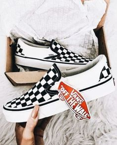 Shop the Look from quinn on ShopStyle. Vans Slip On CheckeredCheckered ... a2d9cf554