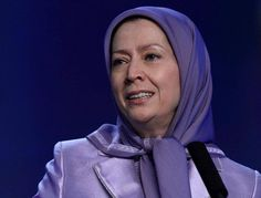 "Maryam Rajavi addresses the crowd in the grand Berlin gathering. Maryam Rajavi among the prominent guests attending the grand Berlin gathering to celebrate March 8th, the Women's Day. Berlin,  March7, 2015: Iranians chant for democracy and freedom with Maryam Rajavi, in a gathering in Berlin. Tens of thousands gathered in Berlin today to commemorate International Women's Day, in the gathering for ""Tolerance and Equality for Women""."