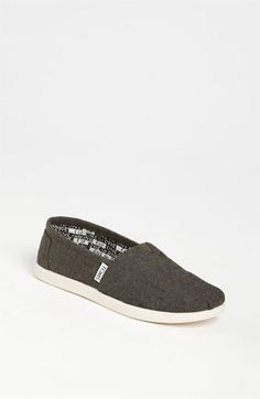 TOMS 'Classic' Chambray Slip-On (Toddler, Little Kid & Big Kid) available at #Nordstrom