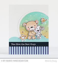 Hi all! Today I want to share my card for My Favorite Things Wednesday Sketch Challenge 321 . The sketch is challenging and fun! I hope yo...