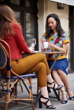 Wax Touch Collection Maison Mixmelô FW 18 #fashion #frenchstyle #waxprint #womensfashion #mixandmatch #slowfashion #ethicalfashion #africanfashion Wax, Touch, Collection, Style, Fashion, Fashion Ideas, Home, Woman, Swag