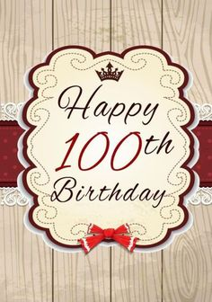 Happy 100th Birthday Gifts For Her Journal Notebook 100 Year Old