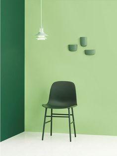 Green hues - Normann Copenhagen #interiors #furniture #green #minimal #architecture #lighting #design