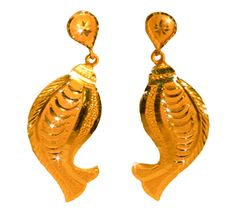 Golden Earrings - Jewellery Garden Pvt Ltd