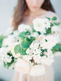 Organic Cornish Wedding Inspiration