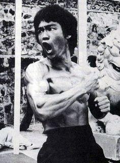 The original badass Mr Bruce Lee Karate Legend