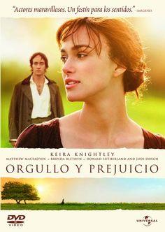 Orgullo y prejuicio [Vídeo]. Directed by Joe Wright. Madrid: Universal Pictures, 2005. 1 videodisco (DVD): 121 min.