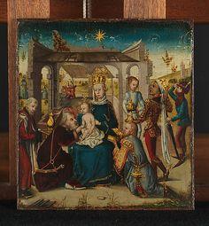 Adoration of the Magi  German (Cologne)  Robert Lehman Collection 1975.1.134 MET    Date:      1450-75  Culture:      German