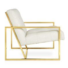 Goldfinger Lounge Chair | Modern Furniture | Jonathan Adler