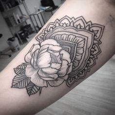 Alex Tabuns @alex_tabuns #tattoo #peony #p...Instagram photo | Websta (Webstagram)