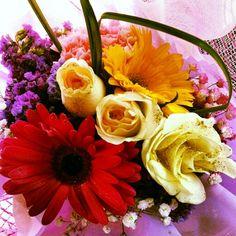 Sarah's Graduation flowers~