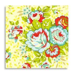 ROSE BOUQUET - cream fabric...love heather bailey fabrics