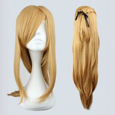 Wig Detail Sword Art Online Asuna Wig Includes: Wig, Hair Net Length - 45CM Important Information: Fitting - Maximum circumference of 55-60CM Material - Heat Resistant Fiber Style - Comes pre-style as