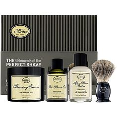THE ART OF SHAVING The 4 Elements of the Perfect Shave. Men's Gift, #Christmas #Giftidea