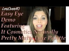 Hooded and all other shaped eyes can follow this EASY eyeshadow tutorial featuring all matte colors.