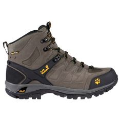 JACK WOLFSKIN MEN ESCALADE MID TEXAPORE STEEL GREY Hiking Supplies, Everyday Carry Gear, Waterproof Hiking Boots, Outdoor Apparel, Walking Boots, Jack Wolfskin, Rubber Shoes, Sneaker Boots, Cool Boots