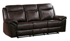 online shopping for Homelegance 87 Double Reclining Sofa (Manual), Brown from top store. See new offer for Homelegance 87 Double Reclining Sofa (Manual), Brown