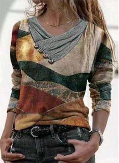 Long Hoodie, Long Sleeve Sweater, Long Sleeve Tops, Long Sleeve Shirts, Shirts & Tops, Tee Shirts, Retro Sweatshirts, Sweatshirts Online, Women's Style Tips