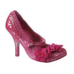 Irregular Choice Courtesan Multi in Fuschia Pink