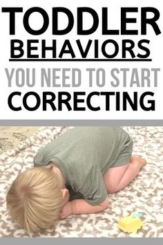 Examples of Toddler Behaviors that need your attention and correction. Don't keep ignoring behaviors! Instead, start correcting them with teaching and discipline! Including How to make a plan that works for your family! Parenting Toddlers, Kids And Parenting, Parenting Hacks, Gentle Parenting, Parenting Goals, Peaceful Parenting, Parenting Articles, Parenting Quotes, Toddler Behavior
