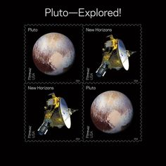 USPS Pluto Stamps