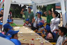 Actividad de verano con niños de Teletón