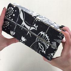 Taikapalikka kankaista // Magic cube with fabrics