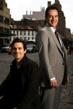 Favorite duo - Neal Caffrey and Peter Burke from WHITE COLLAR